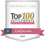 Top 100 Settlements Personal Injury - California 2017